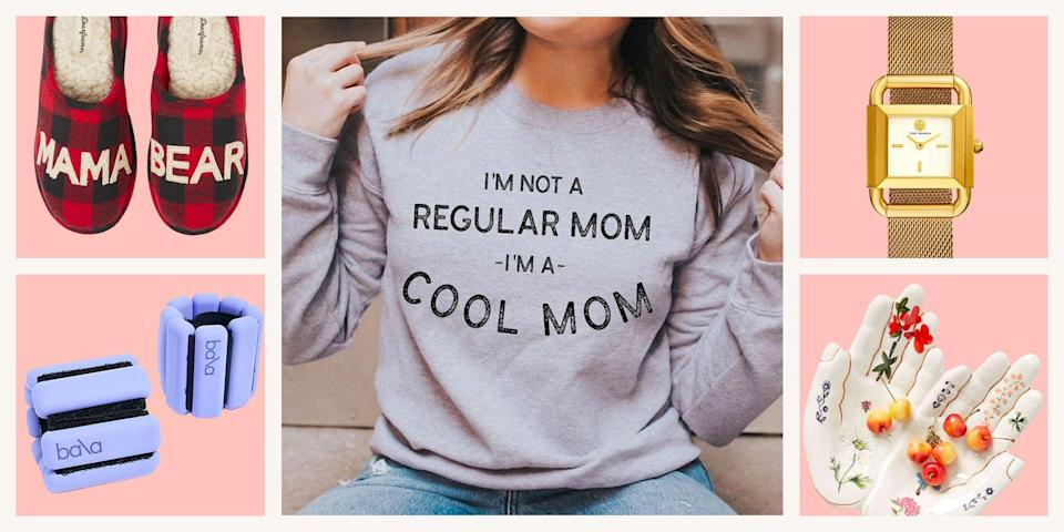 """<p>Holiday <a href=""""https://www.seventeen.com/fashion/g32461844/mom-birthday-gifts/"""" rel=""""nofollow noopener"""" target=""""_blank"""" data-ylk=""""slk:shopping for mom"""" class=""""link rapid-noclick-resp"""">shopping for mom</a> is the next best thing to <a href=""""https://www.seventeen.com/fashion/g788/gifts-for-you/"""" rel=""""nofollow noopener"""" target=""""_blank"""" data-ylk=""""slk:buying presents for yourself"""" class=""""link rapid-noclick-resp"""">buying presents for yourself</a>, because anything you gift her, you'll eventually get to borrow. I don't make the rules, I just abide by them. Give her a thoughtful present you'll both love, like an extravagant spa set, on-trend earrings, or one of those viral air fryers (yeah, you'll make good use of that one). </p><p>Shop all of that and more (ie: customizable blankets and high-tech workout gear) all within the comfort of this article, hand-curated by yours truly. Here are the most unique, thoughtful, just plain cute Christmas gifts that you and your mom will love. </p>"""