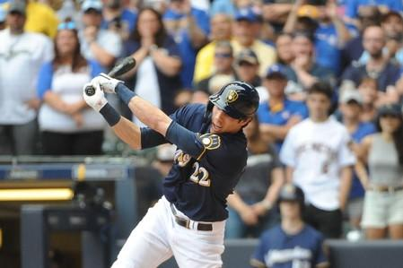 FILE PHOTO: MLB: Texas Rangers at Milwaukee Brewers