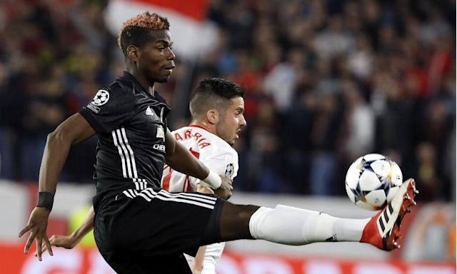 Paul Pogba earned praise from José Mourinho for his performance off the bench against Sevilla.