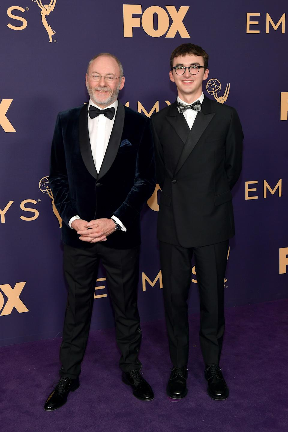 """<h1 class=""""title"""">Liam Cunningham and Isaac Hempstead Wright in Dior Men</h1><cite class=""""credit"""">Photo: Getty Images</cite>"""