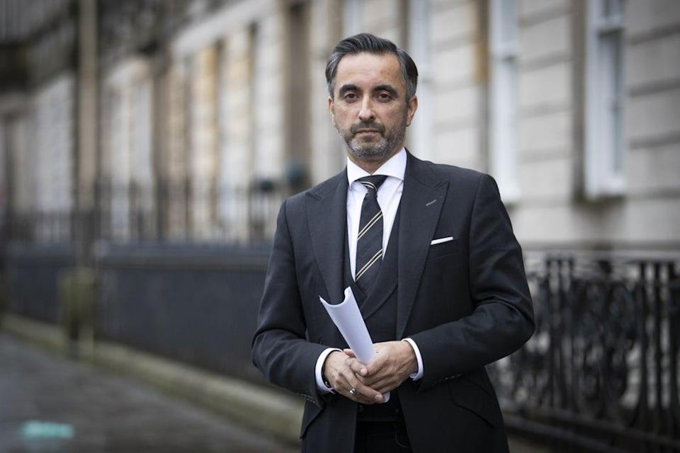Aamer Anwar will raise the action at Dundee Sheriff Court (Jane Barlow/PA) (PA Archive)