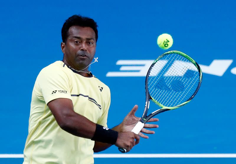 Leander Paes, 46, announces 2020 will be his final year as a professional