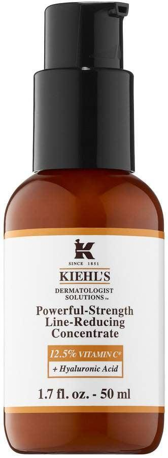 <p><span>Kiehl's Powerful-Strength Line-Reducing Concentrate 12.5% Vitamin C</span> ($65)</p>