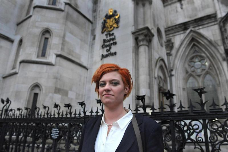 Victory: Jack Monroe was awarded £24,000 in damages (PA)