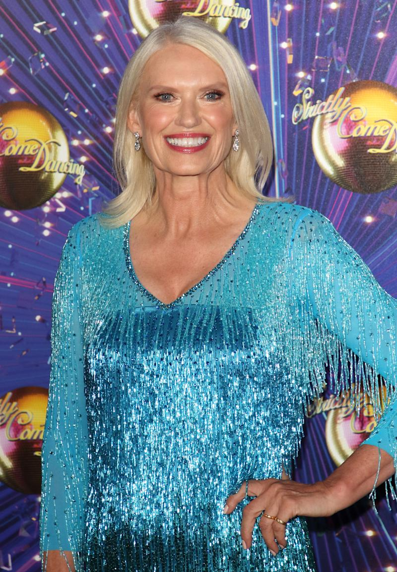 LONDON, UNITED KINGDOM - 2019/08/26: Anneka Rice at the Strictly Come Dancing Launch at BBC Broadcasting House in London. (Photo by Keith Mayhew/SOPA Images/LightRocket via Getty Images)