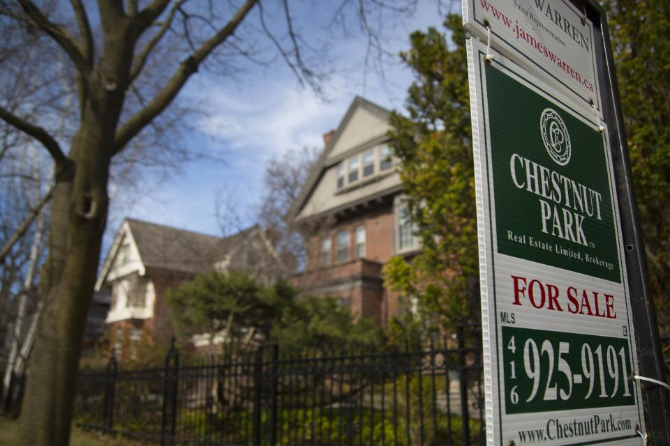 TORONTO, ON - APRIL 14:A single detached house in the High Park / Roncesvalles neighborhood is available for sale.        (Chris So/Toronto Star via Getty Images)