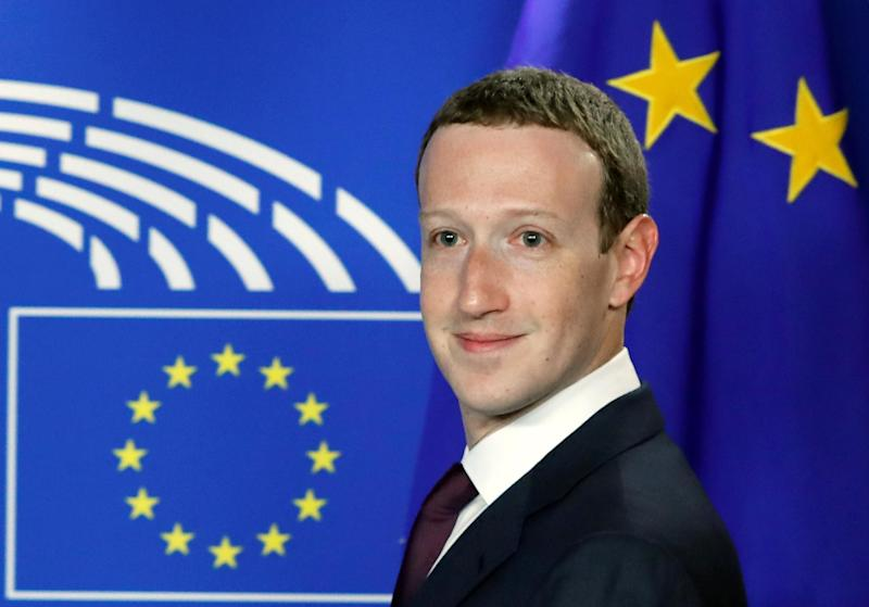 Facebook's CEO Mark Zuckerberg arrives at the European Parliament to answer questions about the improper use of millions of users' data by a political consultancy, in Brussels, Belgium May 22, 2018: REUTERS
