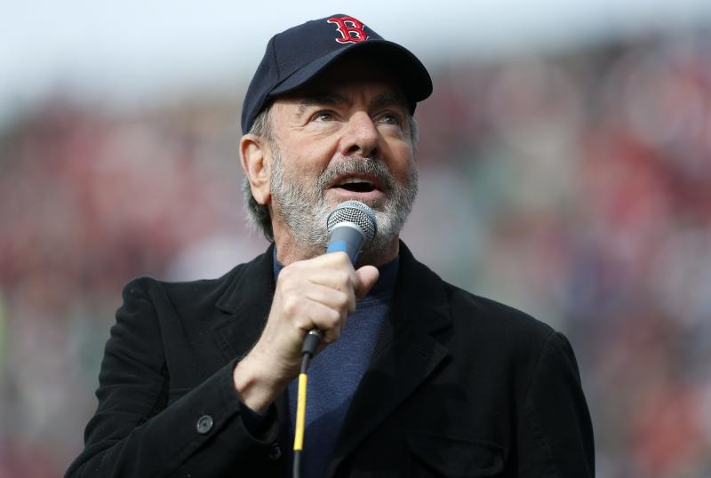 Neil Diamond records charity song for Boston