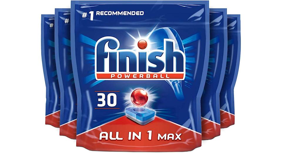 Finish All-in-One Max Dishwasher Tablets