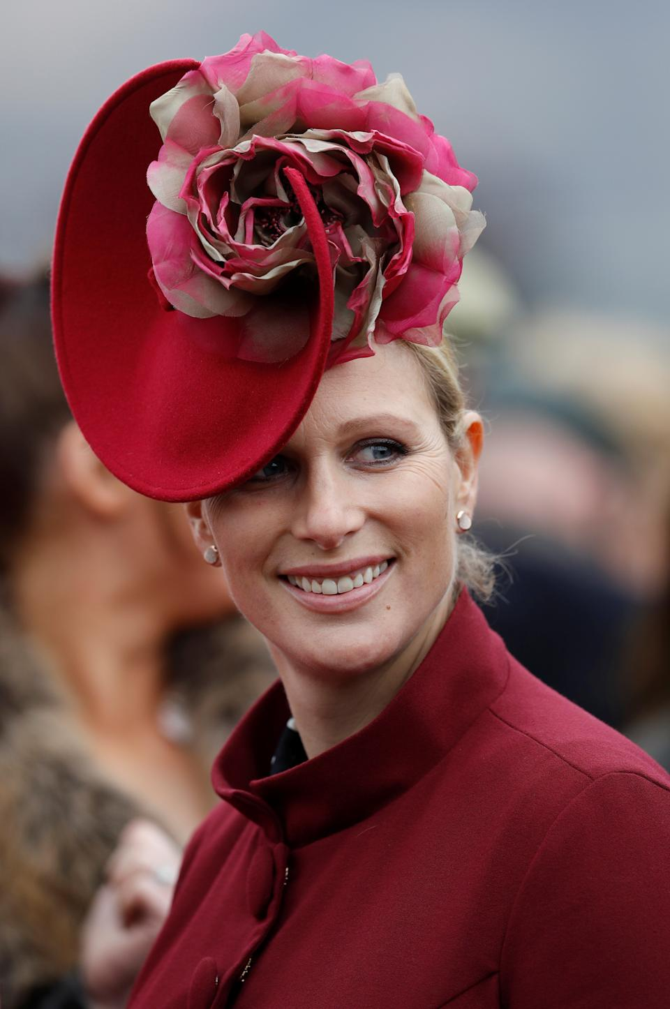 Horse Racing - Cheltenham Festival - Cheltenham Racecourse, Cheltenham, Britain - March 14, 2018   Zara Tindall during Cheltenham Festival   REUTERS/Darren Staples