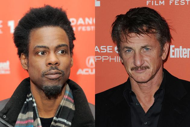 """<p><strong>Between a Rock and a hard-hearted place: Chris Rock and Sean Penn</strong> <br><br>Light-hearted ribbing is cool, but celebrity-bashing gets you Sean Penn latching at your throat.</p> <p>The  insult came when Rock aimed his comedic sights on burbling male talent,  including the then-ubiquitous Jude Law: """"Who is this guy? Why is he in  every movie I have seen in the past four years?"""" Rock demanded. After  dissing Tobey McGuire and Colin Farrell, Rock added, """"You want Tom  Cruise and all you can get is Jude Law? Wait."""" An offended Penn, then  filming """"All the King's Men"""" with his British peer, stepped up two hours  later and said icily: """"In answer to our host's question, Jude Law is  one of our finest young actors.""""</p>   <p>The two did <a href=""""http://www.thewrap.com/awards/column-post/oscars-finally-invite-chris-rock-back-35423"""">hug it out backstage</a>  after the show (""""Sean! It was just a joke, man!"""" Rock hollered). Not  only did the bad boys buddy up, but even Oscar has relented: Rock has  been <a href=""""http://www.reuters.com/article/2012/02/15/idUS127382605820120215"""">granted presenter privileges</a> this year. Still, that 2005 Rocky performance put in Time magzine's <a href=""""http://www.time.com/time/specials/packages/article/0,28804,2055924_2055923_2055893,00.html"""">""""Worst Awards-Show Hosts"""" mix along with Jerry Lewis and David Letterman</a>,  although the magazine had to acknowledge his standing ovation, his  well-received monologue, and that Rock was just """"dishing out the  acerbic, high-pitched humor that led to his hosting the show in the  first place."""" And really, who could forget Rock as <a href=""""http://today.msnbc.msn.com/id/7042377/ns/today-entertainment/t/host-chris-rock-comes-out-swinging/#.T0Ufs8rw9RM"""">best Catherine Zeta-Jones</a>, flirting with Adam Sandler?</p>"""