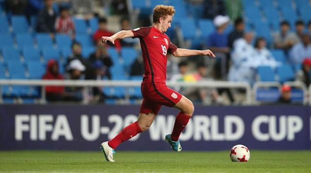 """<p>U.S. men's national team rising star Josh Sargent is officially a Werder Bremen player.</p><p>Months after agreeing to join the Bundesliga club, Sargent became eligible to sign his contract with the team on Tuesday, when he turned 18. </p><p>""""All the formalities have been completed and Josh has now signed his professional contract with us,"""" Werder Bremen sporting director Frank Baumann said in a statement. """"We're really happy that he has decided to take this next step in his career at SV Werder Bremen. He has really impressed us since the beginning of this year and has gathered experience in first team training as well as some games with the Under-23s.""""</p><p>?Sargent joined up with the club in September to begin his initiation on an unofficial level, and he'll be able to play for the first team starting in the 2018-19 season.</p><p>Sargent joins a growing list of young Americans at top-flight German clubs. Christian Pulisic and Weston McKennie have made waves at Borussia Dortmund and Schalke, respectively, while <a href=""""https://twitter.com/s04_us/status/965724134247419904"""" rel=""""nofollow noopener"""" target=""""_blank"""" data-ylk=""""slk:Schalke agreed on Monday to sign 17-year-old Zyen Jones"""" class=""""link rapid-noclick-resp"""">Schalke agreed on Monday to sign 17-year-old Zyen Jones</a>, who will join Americans Haji Wright and Nick Taitague at the club. </p><p>Sargent, a Missouri native who will team with fellow U.S. international Aron Johannsson at Werder Bremen, broke out with the USA in 2017 at both the U-17 and U-20 FIFA World Cups and reportedly chose Werder Bremen <a href=""""https://twitter.com/TaylorTwellman/status/910473643485835264"""" rel=""""nofollow noopener"""" target=""""_blank"""" data-ylk=""""slk:over the likes of Dortmund and Bayern Munich"""" class=""""link rapid-noclick-resp"""">over the likes of Dortmund and Bayern Munich</a>. He was called in by interim USMNT manager Dave Sarachan for last November's friendly vs. Portugal, but he sat out the match with a minor injury and is still see"""