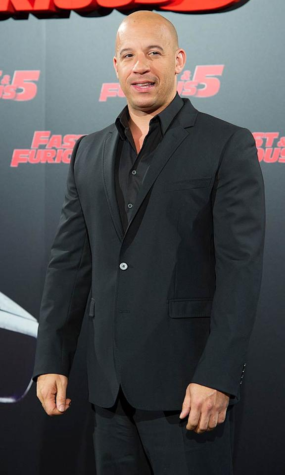 "Vin Diesel (""Fast Five"") turns 44 Carlos Alvarez/<a href=""http://www.gettyimages.com/"" target=""new"">GettyImages.com</a> - April 26, 2011"