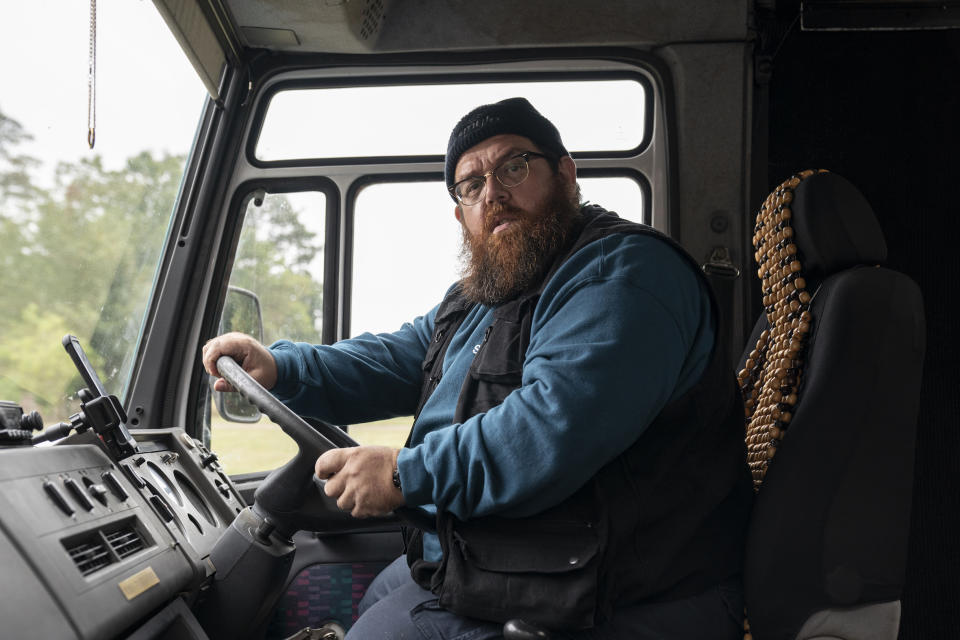 Nick Frost as Gus Roberts in new Amazon Original Truth Seekers