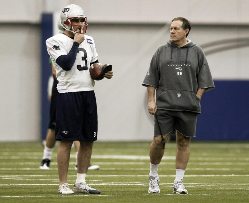 Bill Belichick gave a glowing assessment of his outgoing kicker on Tuesday. (AP Photo/Mark Humphrey)