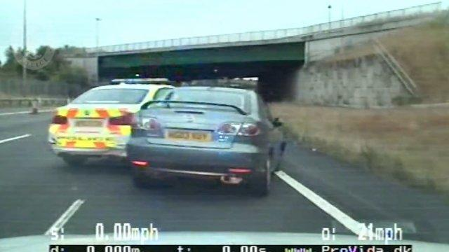 Criminals Throw Over £200k of Heroin from Car During High Speed Police Chase