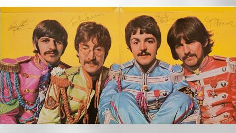 ap beatles sgt pepper auction jt 130331 wblog Signed Iconic Beatles Album Auctioned for $290,500