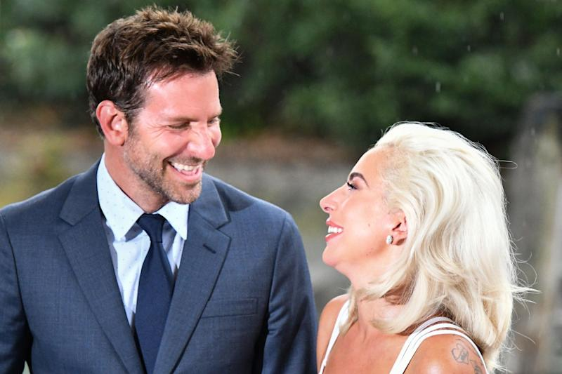Nominated: Bradley Cooper and Lady Gaga: AFP/Getty Images
