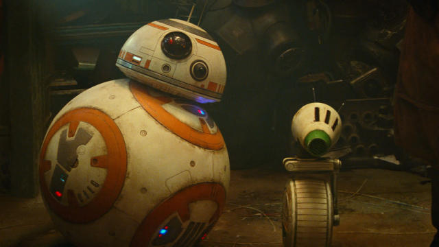 BB-8 and D-O in 'Star Wars: The Rise of Skywalker'. (Credit: Disney/Lucasfilm)