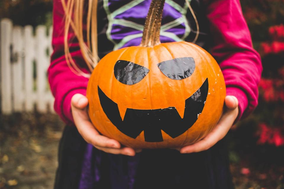 <p>Get out the paints, carving supplies, decorating kits, and - if you're feeling daring - the glitter. Spend some time decorating pumpkins with your kids and host an anonymous vote afterwards for the best pumpkin; winner gets a prize! Too much competition? Forget the vote and take fun photos of each family member with their pumpkin instead.</p>