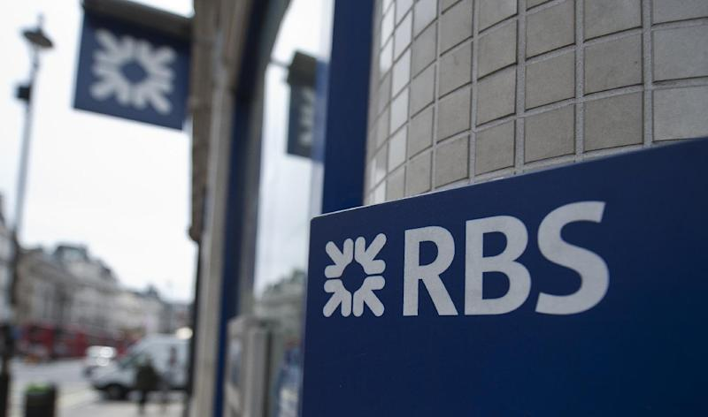 The Royal Bank of Scotland's flagship main office is in Edinburgh, but RBS may move registered offices to England if Scots vote for independence next week (AFP Photo/Will Oliver)