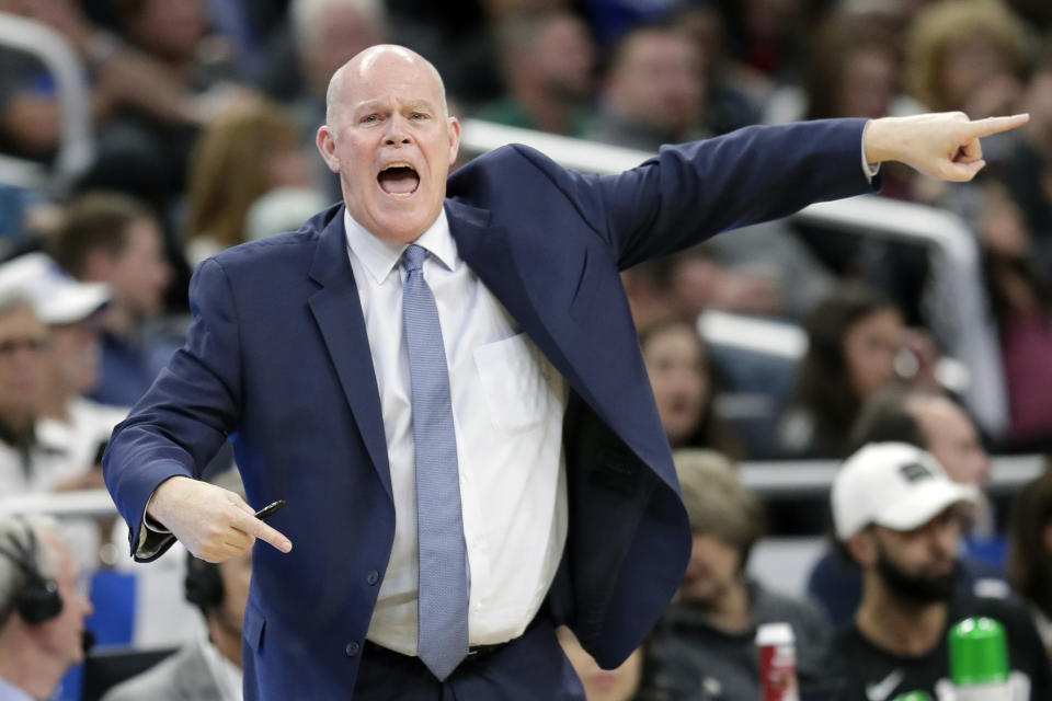 Steve Clifford had a few choice words for the officiating crew at Madison Square Garden on Thursday night.