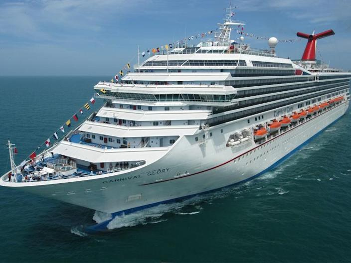 Cruise ship worker found alive in sea 22 hours after falling overboard in 'miraculous' rescue