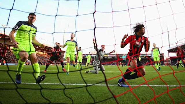 <p>Bournemouth found themselves 3-1 down with less than half an hour left but Eddie Howe's introduction of Ryan Fraser proved to be a masterstroke as he was instrumental in orchestrating his side's comeback, completed by Nathan Ake in the 93rd minute.</p> <br><p>Sadio Mane and Divock Origi had put Liverpool two up after 22 minutes. A penalty from Calum Wilson pulled one back for Bournemouth but eight minutes later Emre Can made it 3-1.</p> <br><p>Loris Karius didn't field one of his best performances and helped Bournemouth in making it 3-3, thanks to goals from Fraser and Steve Cook. Ake sealed the massive victory in the 93rd minute to secure a big three points for Howe's side.</p>