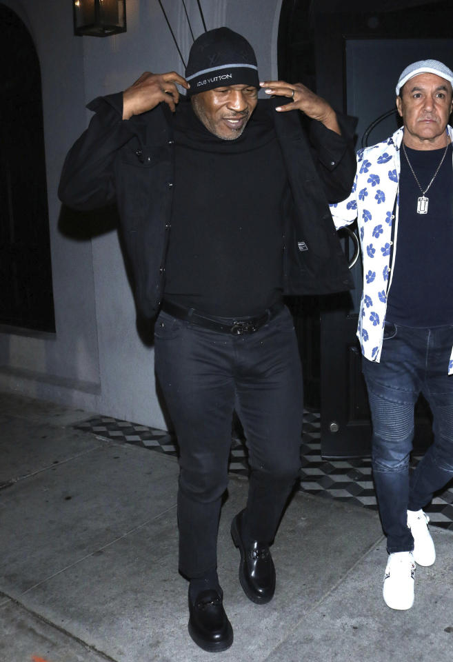 Photo by: OGUT/STAR MAX/IPx 2020 3/4/20 Mike Tyson is seen in Los Angeles, CA. (Los Angeles, CA)