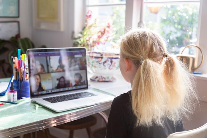 There's a new kind of insecurity at play in video conferencing. (Photo: Jessie Casson via Getty Images)