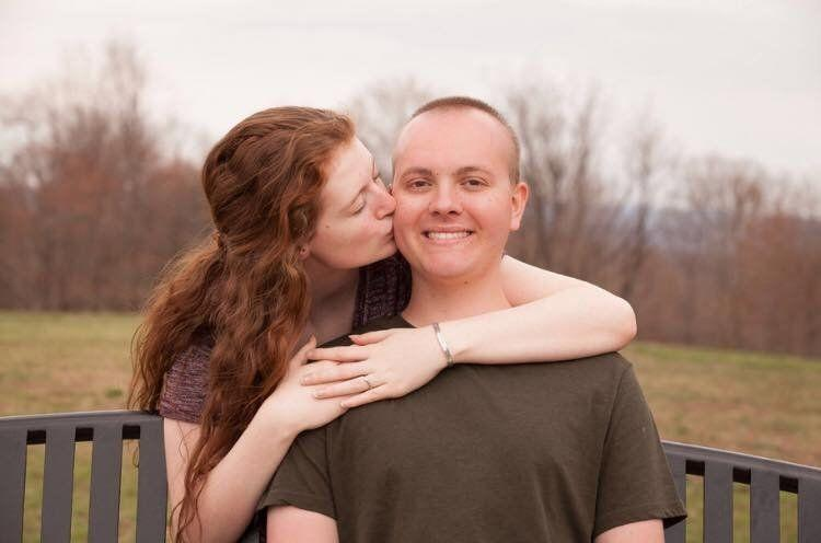 Mollie Landman and Brady Hunker, both 17, get engaged as Hunker battles life-threatening cancer. (Photo: Facebook)
