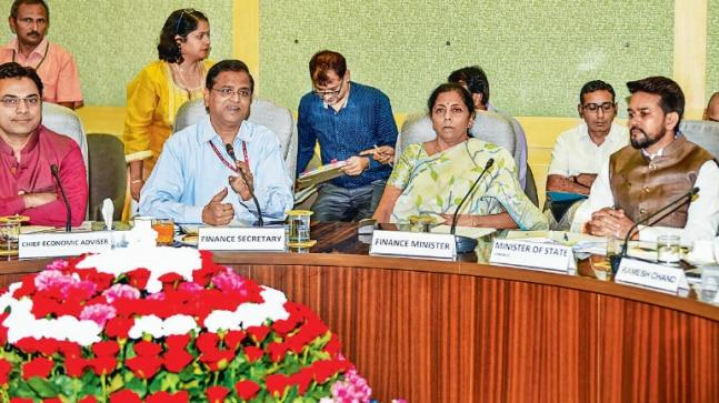Finance Minister Nirmala Sitharaman met experts from agricultural and allied sectors to take measures to boost economic and social infrastructure of the rural sector on Tuesday, during a pre-budget consultation on agricultural and rural development.