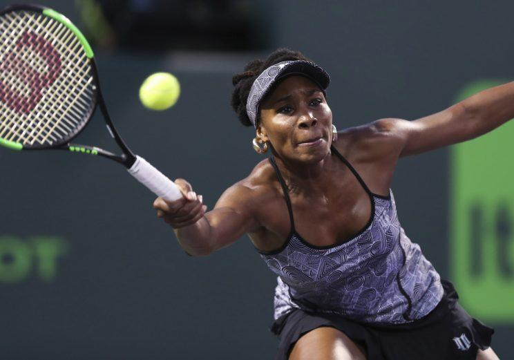 Venus Williams reportedly caused a traffic accident that caused the death of a 78-year-old man. (AP)