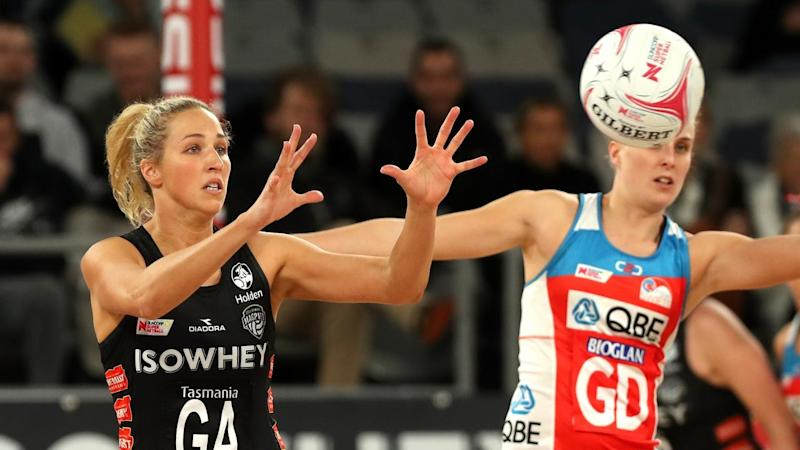 SUPER NETBALL MAGPIES SWIFTS