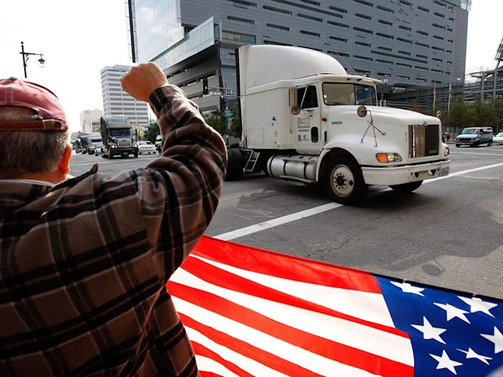Some truck drivers won't have to follow the much-hated safety laws.