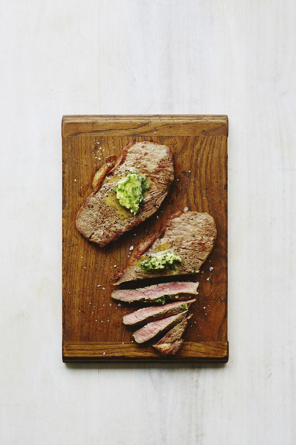 """<p>For a sophisticated starter, grill old-fashioned pickled shallots and garlic with bite-size cubes of peppered and seared beef sirloin, then place them on fresh basil leaves.</p><p><strong><a href=""""https://www.countryliving.com/food-drinks/recipes/a1009/pickled-garlic-shallots-pearl-onions-3116/"""" rel=""""nofollow noopener"""" target=""""_blank"""" data-ylk=""""slk:Get the recipe"""" class=""""link rapid-noclick-resp"""">Get the recipe</a>.</strong></p>"""