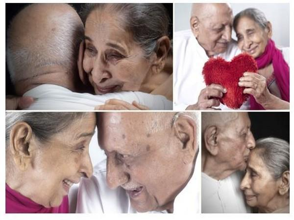 The photo series Immortal Love is expected to be launched on World Senior Citizen's Day