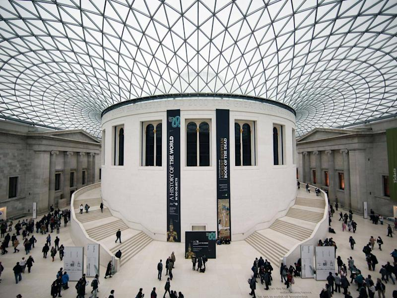 The statues are held in the British Museum in London
