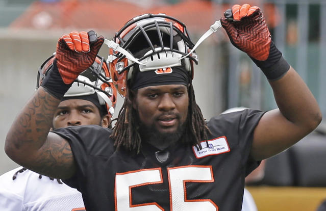Vontaze Burfict faces a five-game suspension for an illegal hit. (AP)
