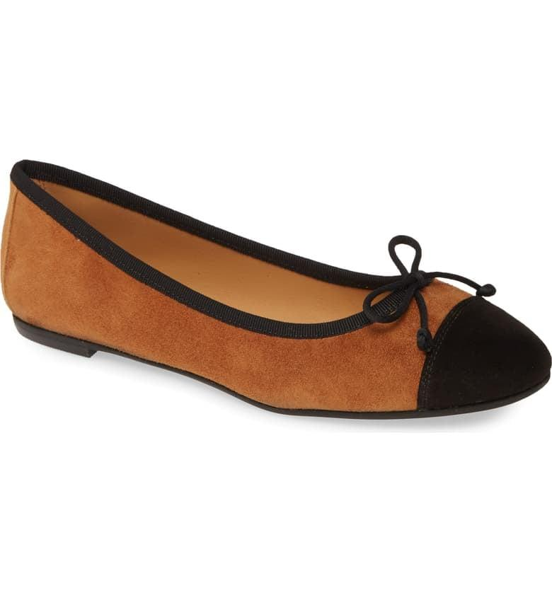 """<p>How cute are these <a href=""""https://www.popsugar.com/buy/Patricia-Green-Gia-Skimmer-Flats-489995?p_name=Patricia%20Green%20Gia%20Skimmer%20Flats&retailer=shop.nordstrom.com&pid=489995&price=215&evar1=fab%3Aus&evar9=45710600&evar98=https%3A%2F%2Fwww.popsugar.com%2Fphoto-gallery%2F45710600%2Fimage%2F46608466%2FPatricia-Green-Gia-Skimmer-Flats&list1=shopping%2Cnordstrom%2Cfall%20fashion%2Cshoes%2Cflats%2Cwinter%20fashion&prop13=api&pdata=1"""" rel=""""nofollow"""" data-shoppable-link=""""1"""" target=""""_blank"""" class=""""ga-track"""" data-ga-category=""""Related"""" data-ga-label=""""https://shop.nordstrom.com/s/patricia-green-gia-skimmer-flat-women/5410950?origin=category-personalizedsort&amp;breadcrumb=Home%2FWomen%2FShoes%2FFlats&amp;color=tobacco%2F%20black%20suede"""" data-ga-action=""""In-Line Links"""">Patricia Green Gia Skimmer Flats</a> ($215)?</p>"""