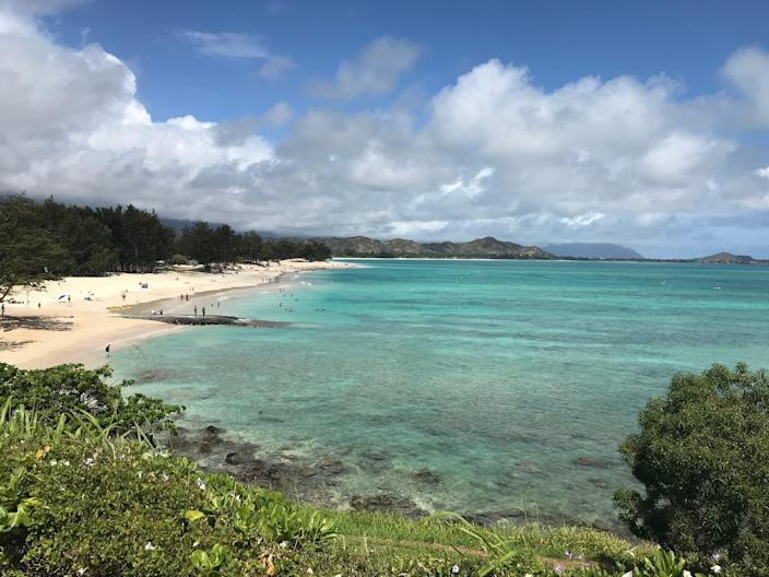 """Kailua Beach, a favorite of former President Barack Obama, has earned many accolades including the top beach in the world by """"Dr. Beach.''"""