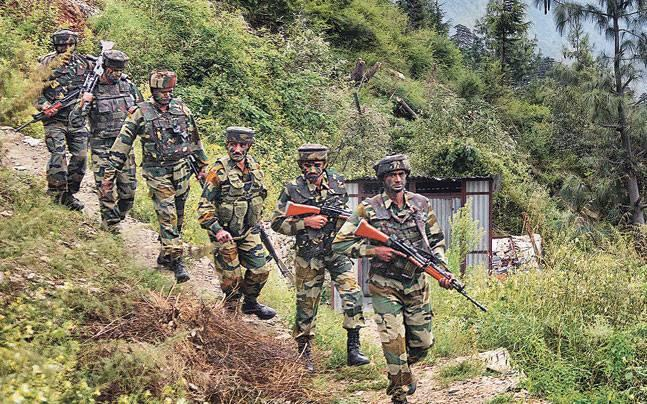 Three jawans injured, civilian killed in massive operation to flush out militants in Kashmir's Shopian