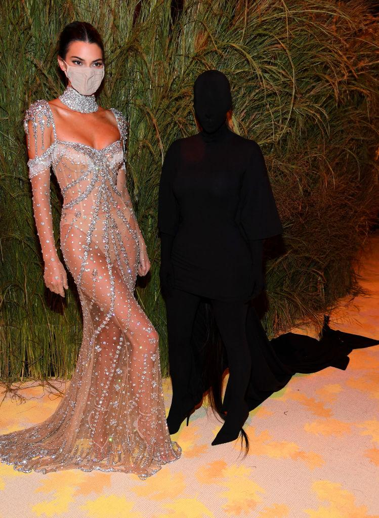 Kim Kardashian attends The 2021 Met Gala Celebrating In America: A Lexicon Of Fashion at Metropolitan Museum of Art. (Getty Images)