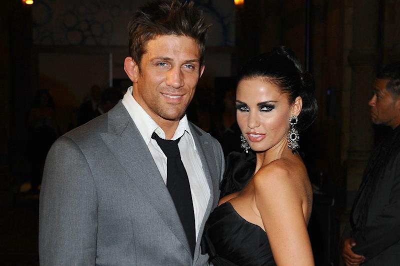 Troubled: Alex Reid and Katie Price: PA