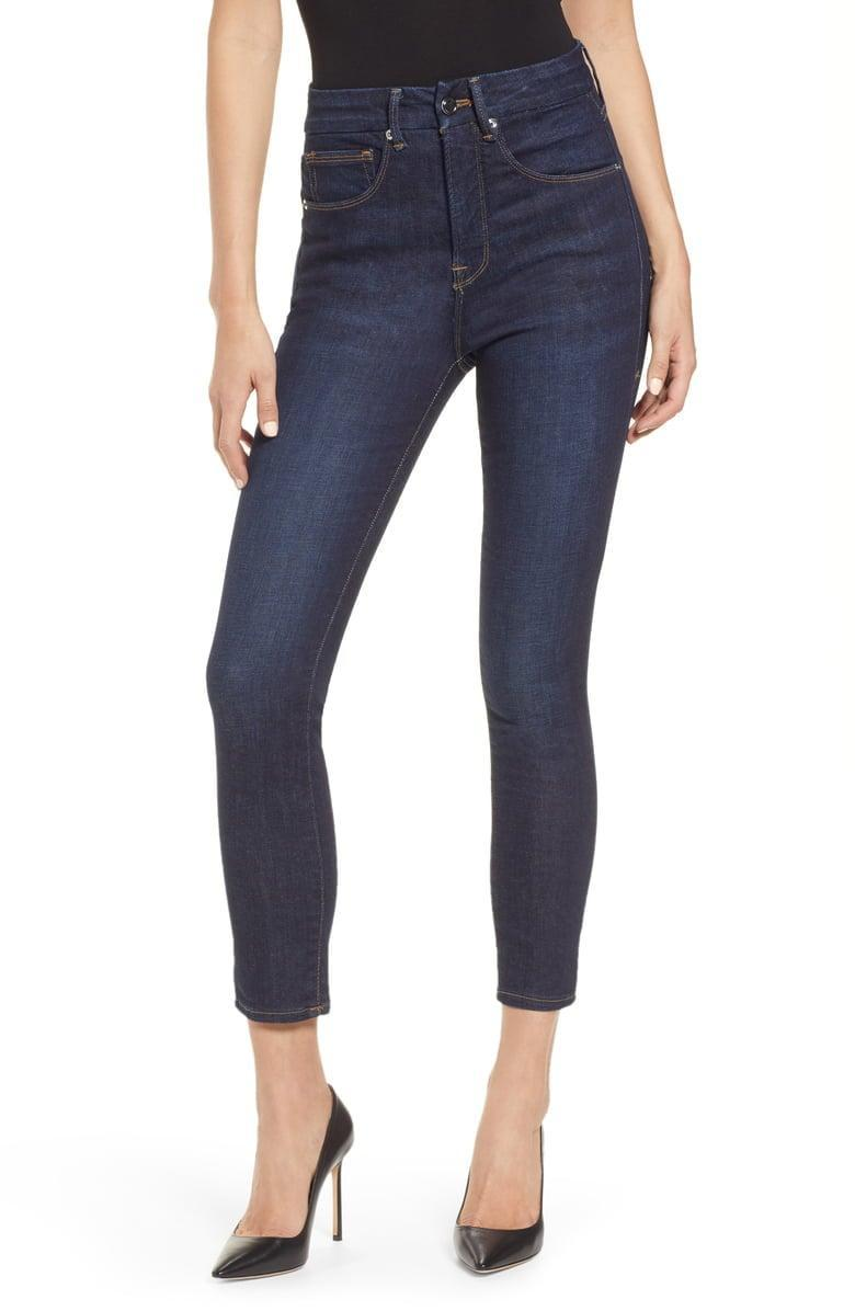 <p>These <span>Good American Good Legs High Waist Ankle Skinny Jeans</span> ($75, originally $99) are so flattering, you'll wonder how you lived without them.</p>