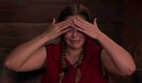 Jacqueline Jossa has had a tough time in the junge (Credit: ITV)