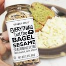 """<p>People are sprinkling this stuff on everything, and we mean everything! The mix includes, sea salt, garlic, and onion, and makes all the difference on our eggs, avocado toast, grilled chicken, homemade dressings, and more. <a href=""""https://www.amazon.com/Trader-Joes-Everything-Sesame-Seasoning/dp/B06VYFYG5P/?tag=syn-yahoo-20&ascsubtag=%5Bartid%7C2089.g.2898%5Bsrc%7Cyahoo-us"""" rel=""""nofollow noopener"""" target=""""_blank"""" data-ylk=""""slk:Get it here"""" class=""""link rapid-noclick-resp"""">Get it here</a>!</p>"""