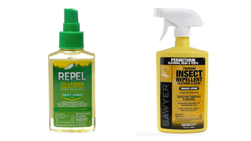 Keep bugs at bay with the right repellent.