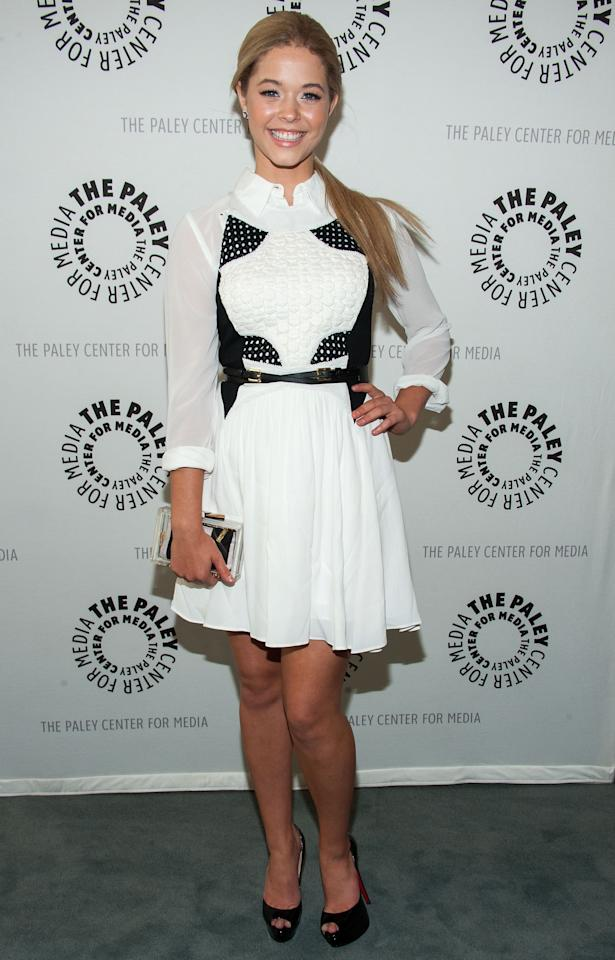 "BEVERLY HILLS, CA - JUNE 10: Sasha Pieterse attends The Paley Center For Media Presents An Evening With ""Pretty Little Liars"" at The Paley Center for Media on June 10, 2013 in Beverly Hills, California. (Photo by Valerie Macon/Getty Images)"