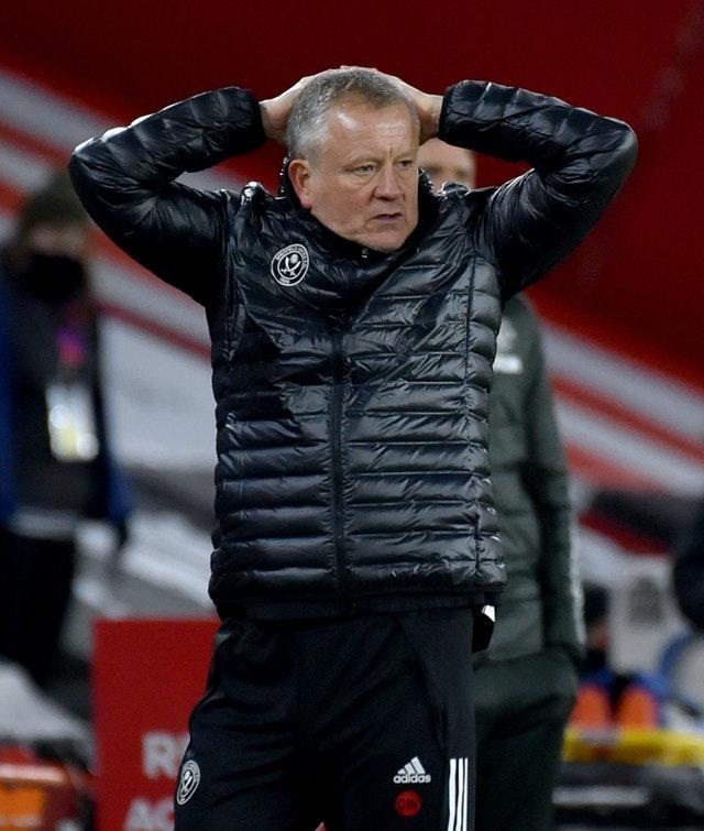 Chris Wilder was frustrated by the goals his side gave away